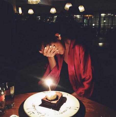 Фото Селены Гомес в день рождения 22 июля 2015