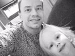 Фото Алексея Серова с дочерью Полиной