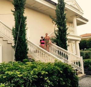 Анастасия Волочкова с дочерью Ариадной в Турции на отдыхе фото июль 2015
