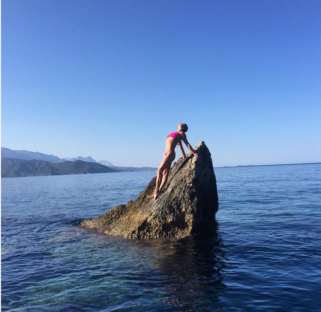 Анастасия Волочкова на отдыхе в Турции, фото, видео