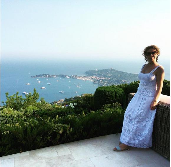 Божена Рынска в Монако фото из Инстаграма июль 2015