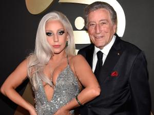 На фото Леди Гага и Тони Беннетт