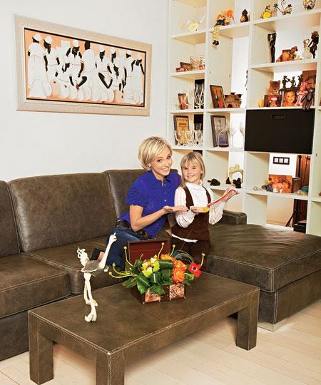 Фото Елены Винник с дочерью