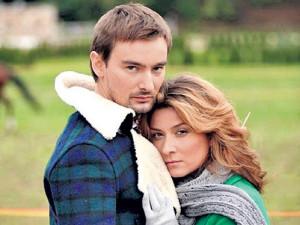 На фото Жанна Бадоева и Алан Бадоев