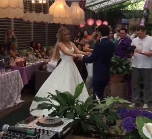 Дана Борисова и Андрей Трощенко свадебное фото 2015