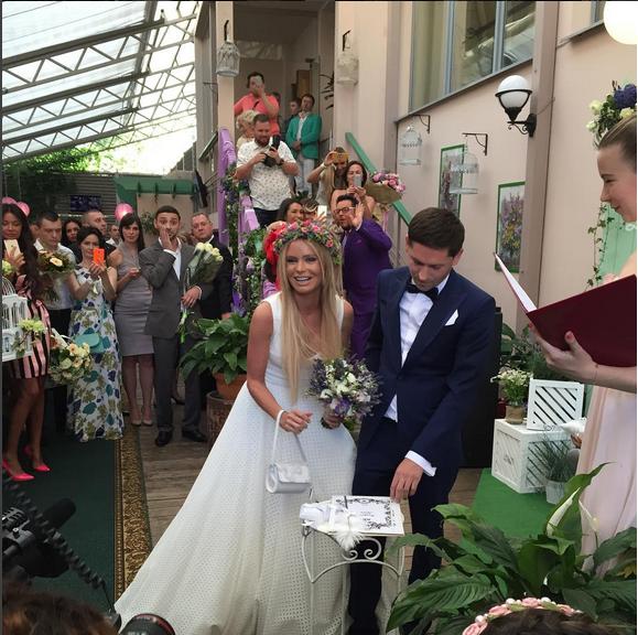 Свадьба Даны Борисовой и Андрея Трощенко фото 6.08.2015