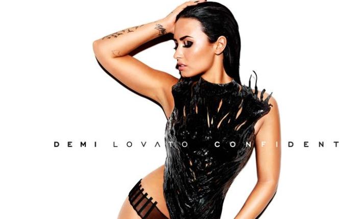 Деми Ловато фото для обложки альбома Confident