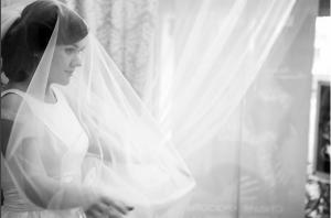 Фото Дины Гариповой в свадебном платье