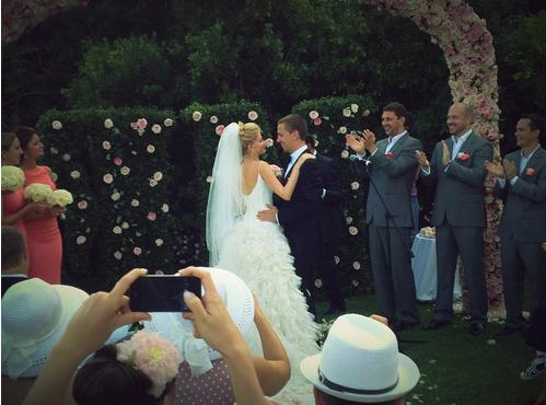 Мария Ивакова и Эрнест Рудяк, фото в день свадьбы