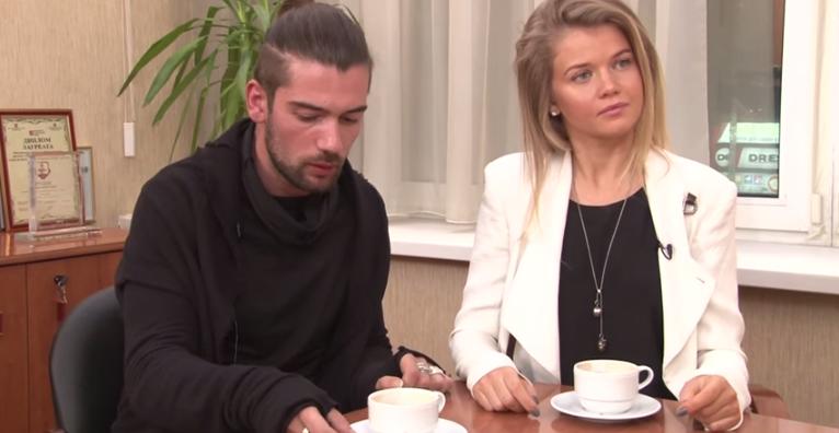 На фото телеведущие Мария Ивакова и Антон Лаврентьев