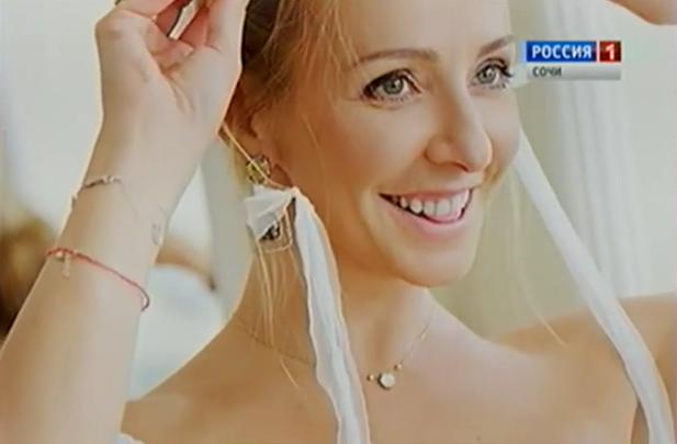 Видео со свадьбы Татьяны Навки и Дмитрия Пескова
