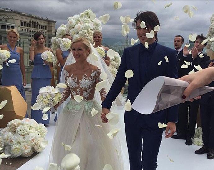 Свадьба Татьяны Волосожар и Максима Транькова фото из Инстаграма