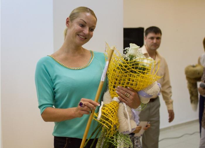 Фото Анастасии Волочковой во время гастролей в Башкирии в августе 2015
