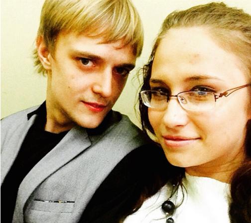 Сын стилиста Сергея Зверева Сергей Зверев-младший с женой Марией Бикмаевой