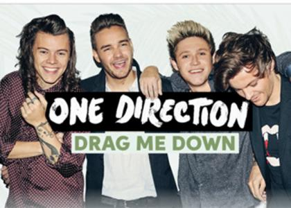 Группа One Direction: новая песня «Drag Me Down»