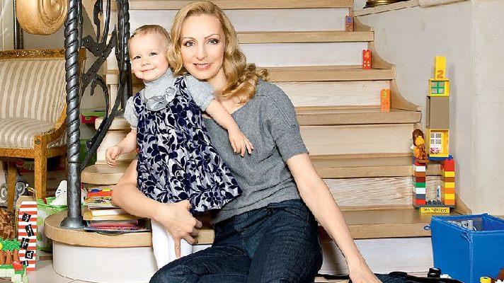 Илзе Лиепа фото с дочкой Надей