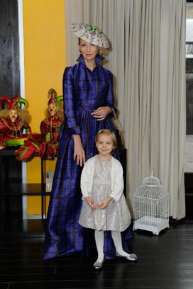 Фото Илзе Лиепа и её дочери Надежды