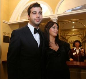 Фото Ивана Урганта с женой Натальей Кикнадзе