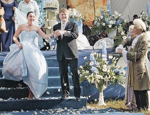 Лолита Милявская и Александр Зарубин фото в день свадьбы
