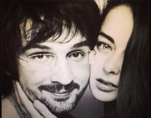 Марина Александрова с мужем Андреем Болтенко, фото из соцсети