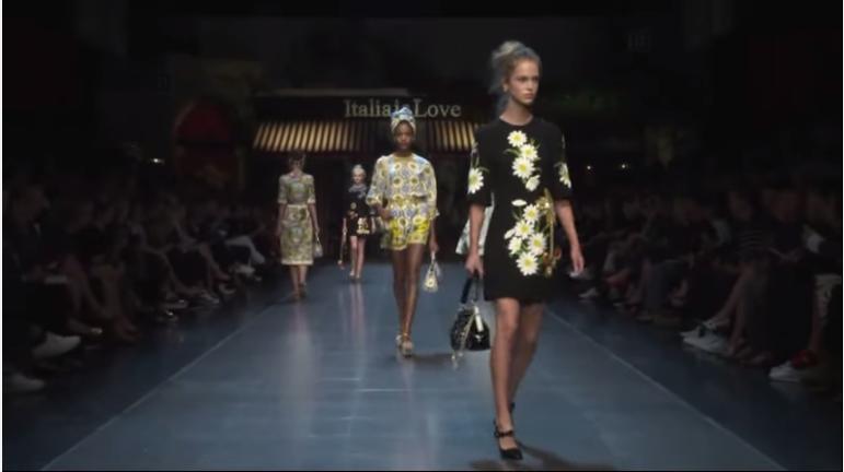 Неделя моды в Милане весна-лето 2016: видео модного показа Dolce & Gabbana