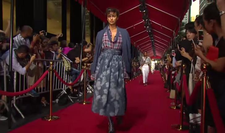 Модный показ Марк Джейкобс (Marc Jacobs)  весна-лето 2016 видео, Неделя моды в Нью-Йорке