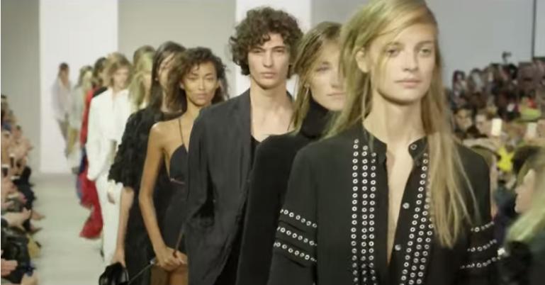 Модный показ Michael Kors  весна-лето 2016 видео, Неделя моды в Нью-Йорке