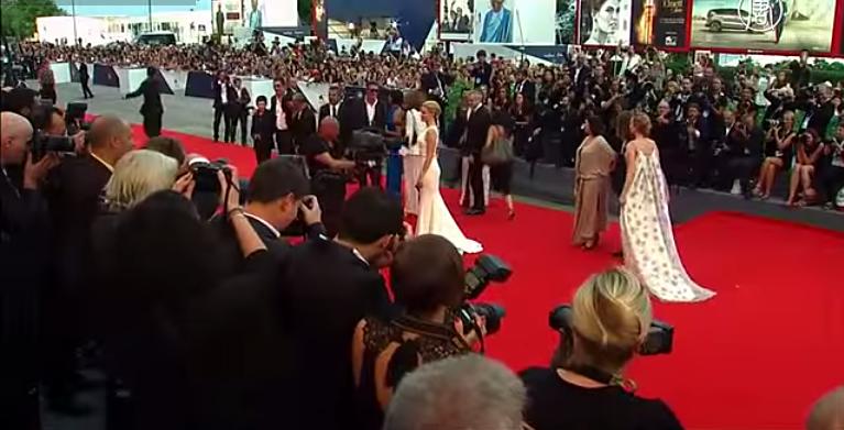 Открылся 72-й Венецианский кинофестиваль 2015, видео