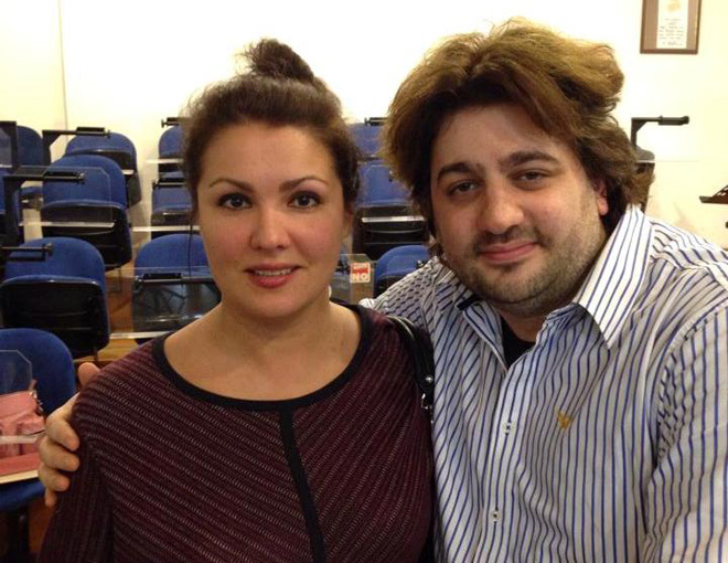 На фото Анна Нетребко и Юсиф Эйвазов