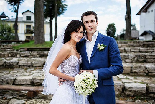 Ирина Антоненко и Вячеслав Федотов фото в день свадьбы