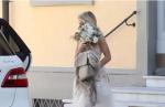 Вера Брежнева в свадебном платье, фото IL Tirrento