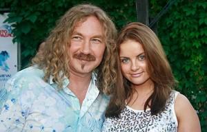 Фото Игоря Николаева с женой Юлией Проскуряковой
