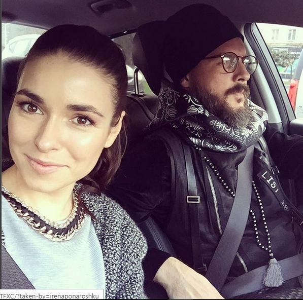 Ирена Понарошку с мужем Александром Глуховым фото из Инстаграма
