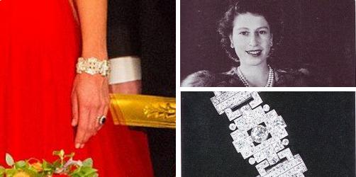 Бриллиантовый браслет королевы Елизаветы