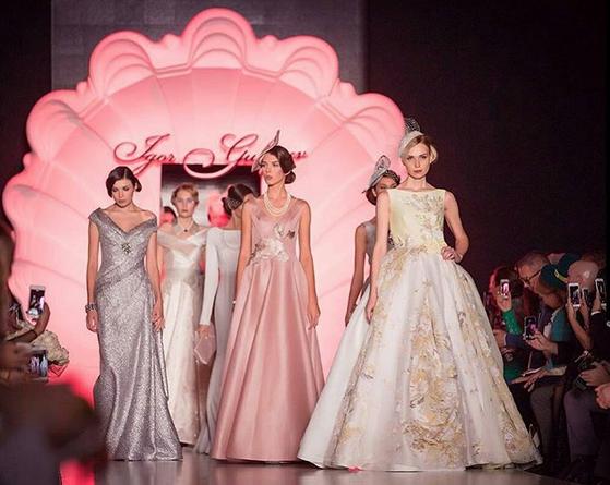 Фото с показа коллекции Игоря Гуляева весна-лето 2016, Неделя моды Мерседес-бенц в Москве