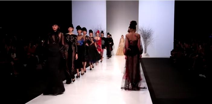 Неделя моды в Москве октябрь 2015: показ коллекции Yanina Couture осень-зима 2015-2016