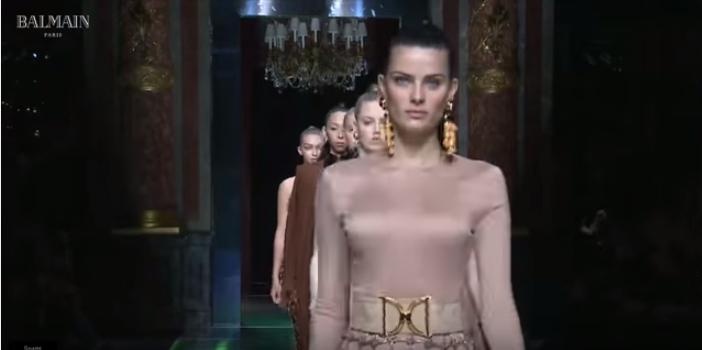 Неделя моды в Париже весна-лето 2016: видео модного показа Balmain