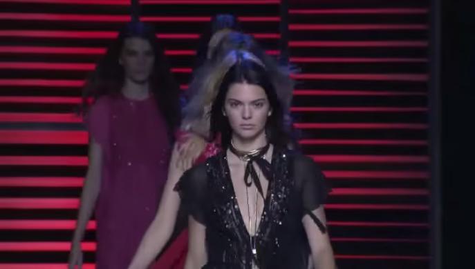 Неделя моды в Париже весна-лето 2016: видео модного показа Elie Saab
