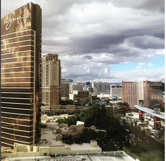 Панорама Лас-Вегаса, фото октябрь 2015 из Инстаграма Алекса Смерфита