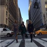 Фото Виктории Бони в Нью-Йорке октябрь 2015