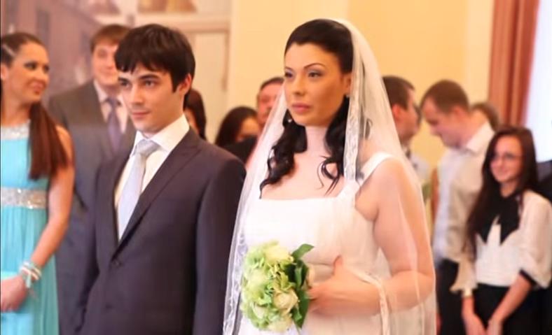 Инна Воловичева с мужем Иваном Новиковым фото в день свадьбы
