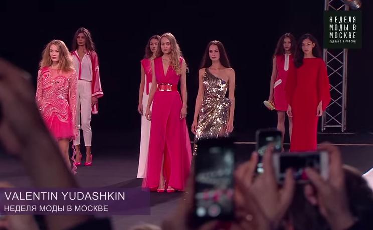 Валентин Юдашкин: модный показ весна-лето 2016 на Неделе моды в Москве