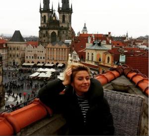 Екатерина Архарова в Праге фото 2015 из Инстаграма