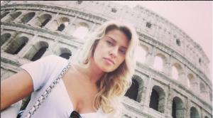 Екатерина Архарова фото на фоне Колизея 2015
