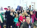 Открытие шоурума Ксении Бородиной, фото ноябрь 2015