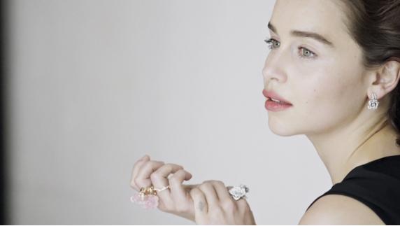 Эмилия Кларк фото для Диор 2015