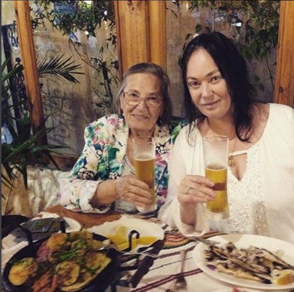 Лариса Гузеева со своей мамой фото из Инстаграма