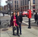 Алеся Кафельникова и Никита Новиков фото 2015 в Бостоне, США