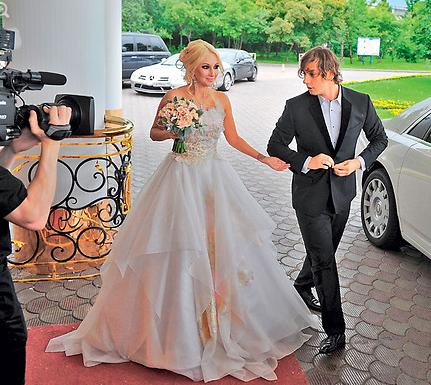Фото в день свадьбы Леры Кудрявцевой и Игоря Макарова