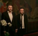 Максим Кочергин и Джелал Ахмедов фото в день регистрации брака в Дании